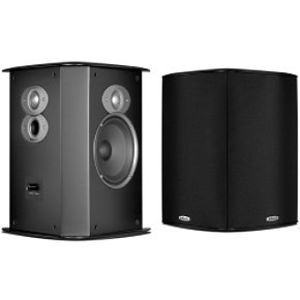 Polk Audio FXI A6 Surround Speakers (Pair, Black)