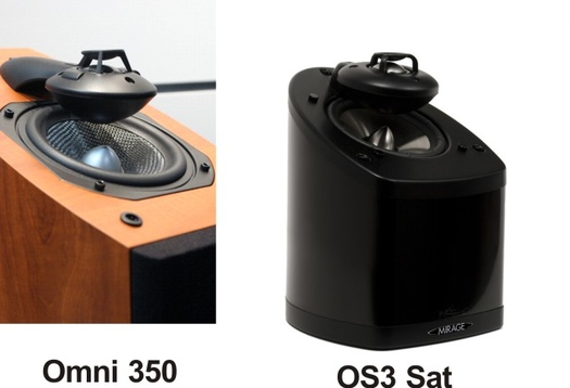 Ideal Center Channel For Use With Mirage Omni 350 And The