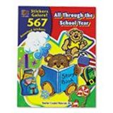 Teacher Created Resources 4229 - Sticker Book, All Through the School Year, 567/Pack-TCR4229