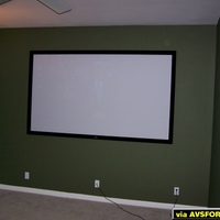 Photos of the process of setting up my home theater on a budget.  Total spent will be less than $6K if on budget