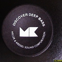 M&K MX145 SubWoofer Logo.