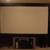 "100"" Focupix screen"