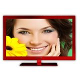 Sceptre E243RV-FHD 23-Inch LED-Lit 1080p 60Hz HDTV (Red)