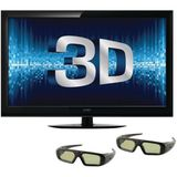 Coby 46-Inch 3D 1080p 120 Hz LED-LCD HDTV with Two Pairs of 3D Glasses