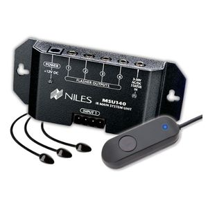 Niles RCASM2 Black Remote Control Anywhere! Kit with Surface-Mount IR MicroSensor