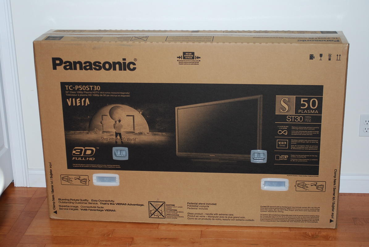 panasonic tv box. ll panasonic tv box o