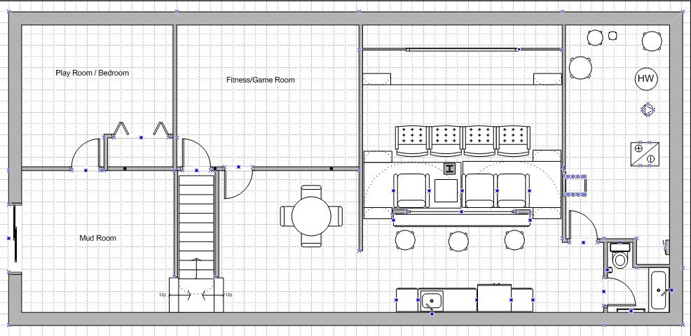 Basement layout help avs forum home theater for Basement design layouts