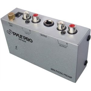 Pyle Pp444 Compact Phono / Turntable Preamp