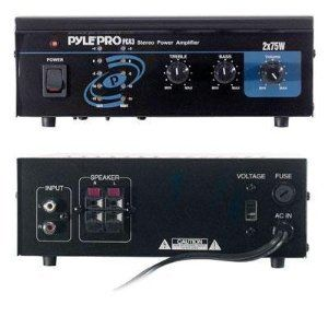 Pyle - Mini 2x75W Stereo Power Amplifier - PCA3 & with Mini Tool Box (cog)