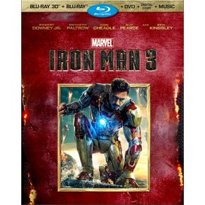 Iron Man 3 (Three-Disc 3D Blu-ray / DVD + Digital Copy)
