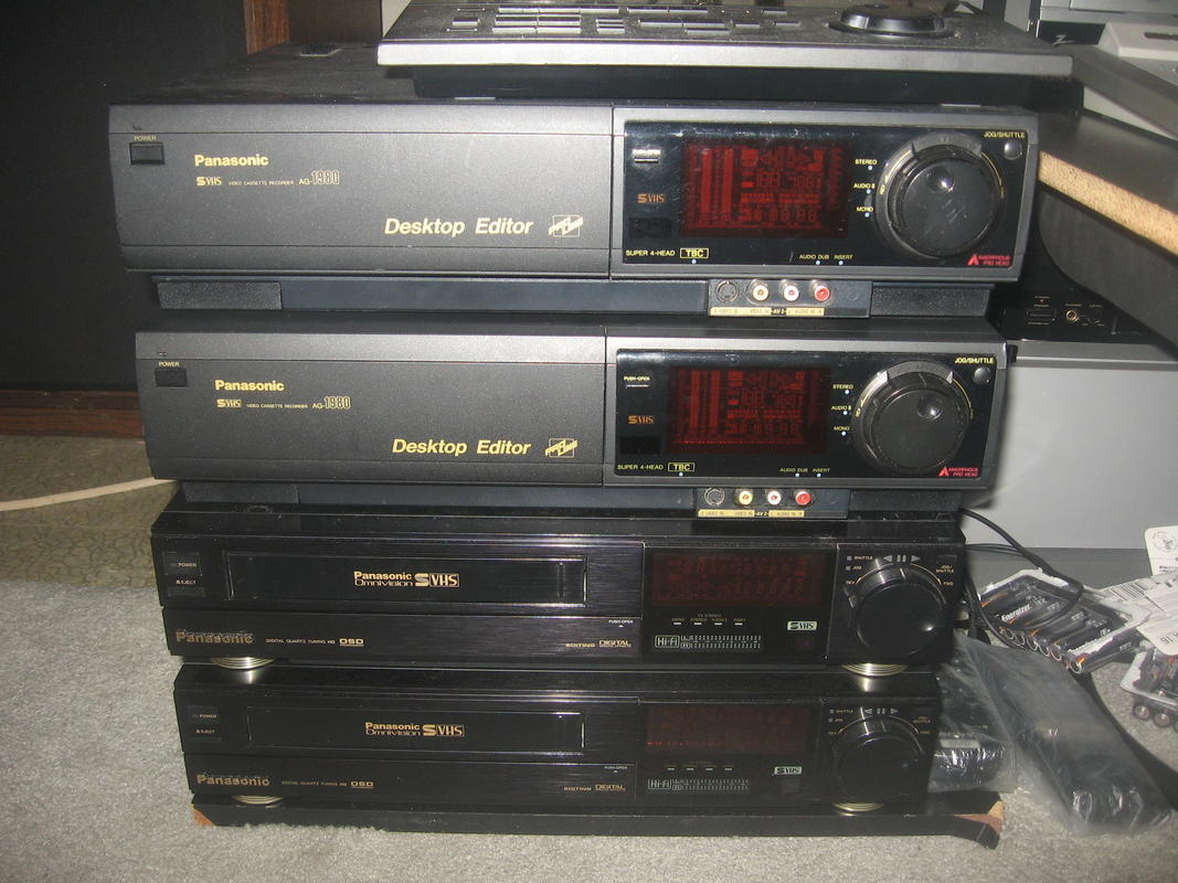 What Vcr S Do You Own Page 2 Avs Forum Home Theater
