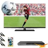 Toshiba 47L6200U 47 inch Ultra-thin 1080p 3D LED HDTV 120Hz Smart TV+ 3D Blu Ray Bundle