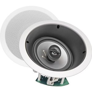 NXG Technology 6.5 inch Home Theater 2-Way LCR In-Ceiling Speaker With Tilt-Swivel Tweeter