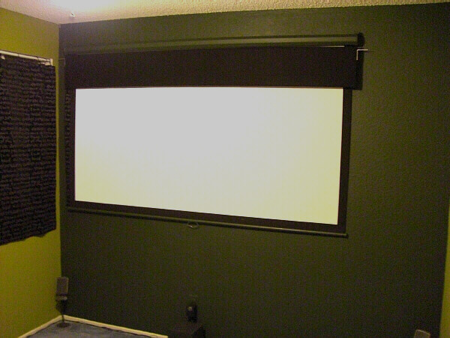 Small Room Projector Setup Help Needed Suggestions