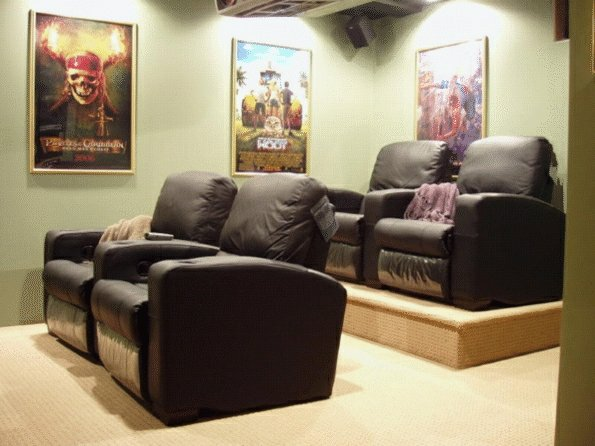 on double seating home theater riser plans