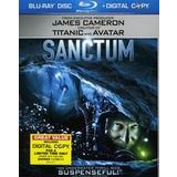 New Universal Studios Sanctum Product Type Blu-Ray Disc Drama Domestic Dts-Hd Master Audio