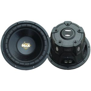 "New- LANZAR MAXP124D MAX PRO SMALL ENCLOSURE DUAL 4_ SUBWOOFER (12""; 1,600W)"
