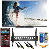Sharp LC-60LE857U Aquos 60-Inch 3D Wifi 240Hz 1080p LED TV Plus Wall Mount Bundle