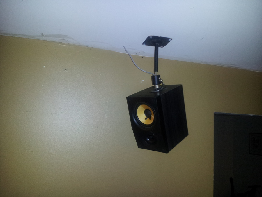 These are pretty good speakers, Kevlar, but I one day will have better..