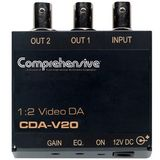 Comprehensive CDA-V20 1 x 2 Composite Video Distribution Amplifier