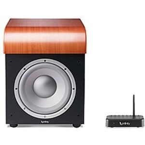 "Infinity Classia PSW310CH 10"" Powered Subwoofer with Dual 10"" Passive Radiators (Single, Cherry)"