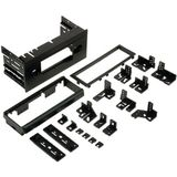 New- SCOSCHE GM1500B MULTI-PURPOSE KIT FOR WITH UNIVERSAL BRACKETS FOR 1982 & UP BUICK, CADILLAC, GMC, OLDSMOBILE, PONTIAC, SATURN