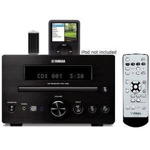 Yamaha Micro Home Theater Receiver Sound System with Integrated iPod Docking Station