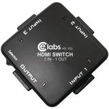 New- CE LABS HS103 3-IN, 1-OUT AUTO HDMITM SWITCHER