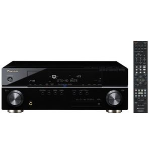 Pioneer VSX-919AH-K 120 Watts A/V Receiver with Full Color GUI/OSD, Advanced MCACC and Analog to HDMI Up-Conversion (Black)