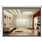 Pyle Home PRJSE437 72-Inch Motorized Projector Screen Standard Format (4:3)