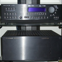 The pre/pro with Gennum VXP video processing chip and the 5x200wpc amp are the heart of this system.