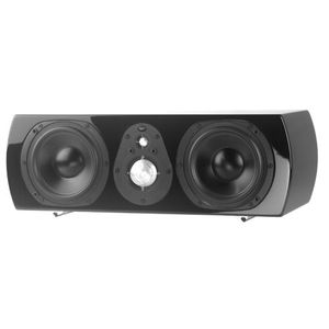 NHT Classic ThreeC Center Channel Speaker (Piano-Gloss Black, Single)