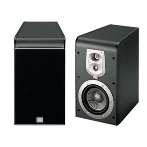 JBL ES20BK 5.25-Inch 3-Way Bookshelf Speaker (Pair, Black)