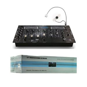 Technical Pro 72-DJB2FL Digital Stereo Preamp Mixer with Echo