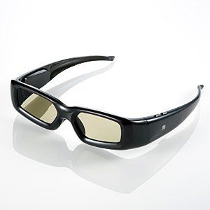 GBSG03-JP: iTrek 3D Active Shutter Glasses for Sharp AQUOS 3D TV