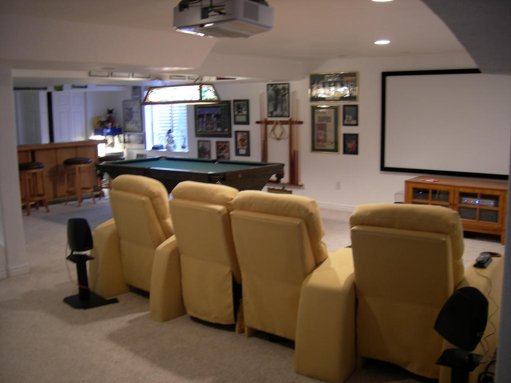 Theater bar game room now ideas avs forum home theater discussions and reviews Room decorating games for adults