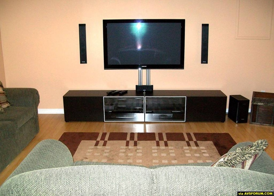 Samsung PN50A450 setup photo