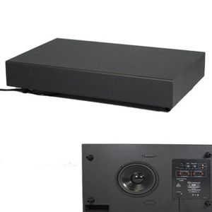 New Black 250 Watt Surround Sound HD Home Theater Slim Powered Active Subwoofer SUB8S