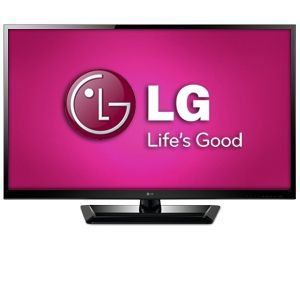 LG 47 Inch LED 3D TV w/ Soundbar - 47LM4700