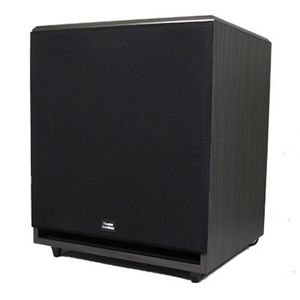 Theater Solutions Black 600 Watt Surround Sound HD Home Theater Powered Active 15 inch Subwoofer SUB15F