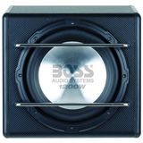 Boss S12A 12 inch 1200W 4-Ohm Amplified Subwoofer Enclosure
