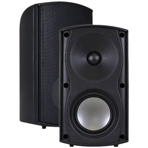 OSD Audio AP490 Visual Performance Outdoor Patio Speaker - Pair (Black)
