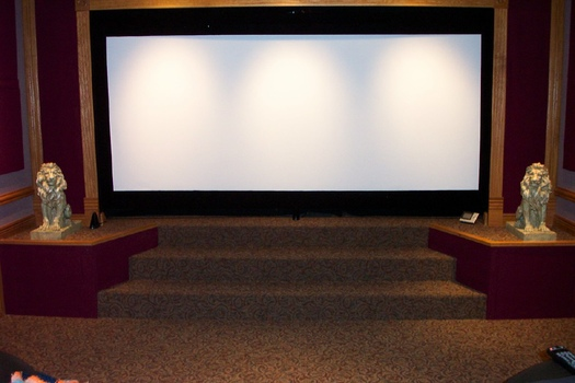 Diy curved screen w motorized masking avs forum home for Motorized home theater screen