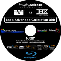 Ted's Advanced Calibration Disk Cover