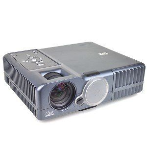 "HP mp3320 Digital DLP Projector w/VGA & Composite Video - 1024x768, 2400 Lumens - 40"" to 290"" Display!"