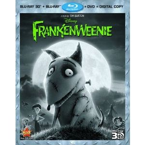 Frankenweenie (Four-Disc Combo: Blu-ray 3D/Blu-ray/DVD + Digital Copy)