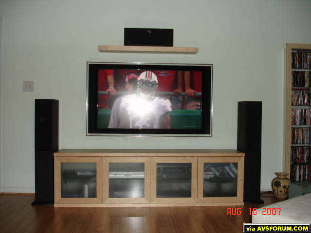 Sony 52XBR3, Ascend acoustic speakers, Denon 3808CI, PS3, 2 Buttkickers, 2 HSU subs.