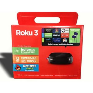 Roku 3 Streaming Player with Motion Remote
