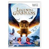 Legend of Guardians: Owls Ga'Hoole Wii Game Warner Bros. Studios
