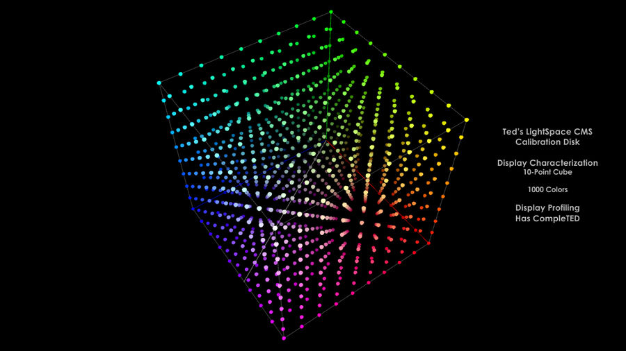 10-Point Cube (1000 Color)
